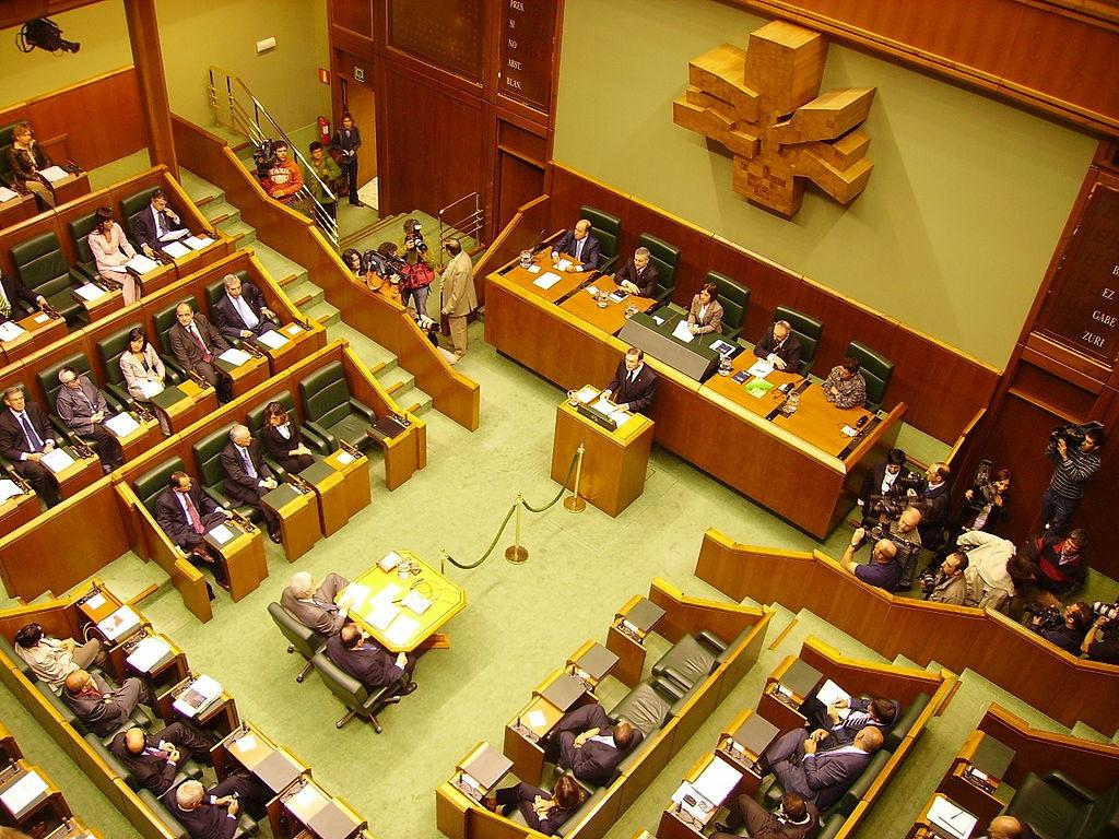 Парламентът на Страната на Баските