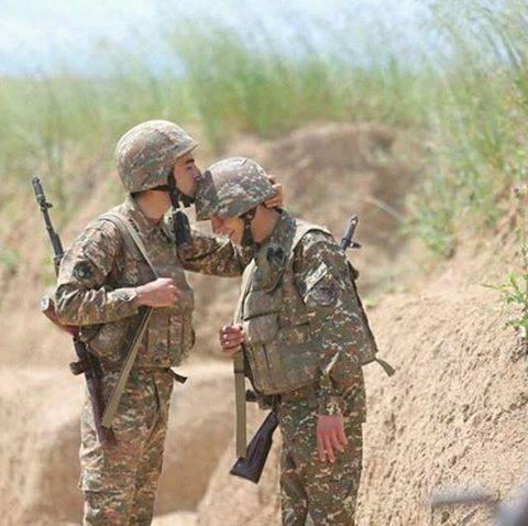 Арменски войници